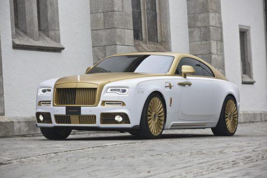 Rolls-Royce с позолоченными деталями