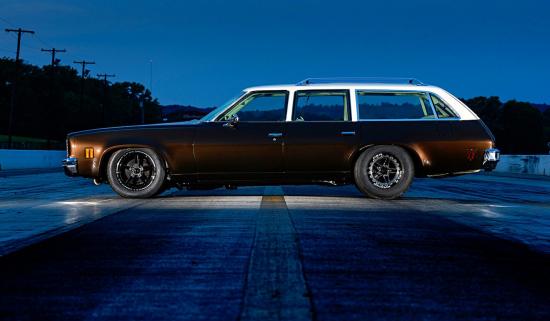 Chevelle 1974 Tuning: вид сбоку