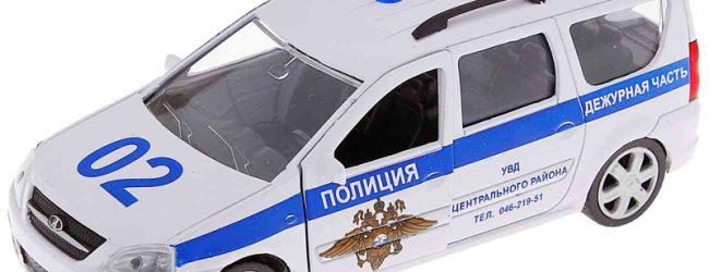 LADA Largus  полиция