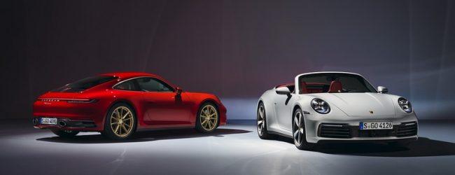 Porsche 911 Carrera купе и кабриолет