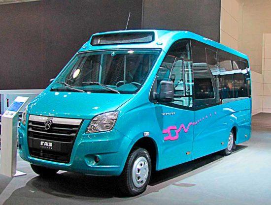 Микроавтобус 2020