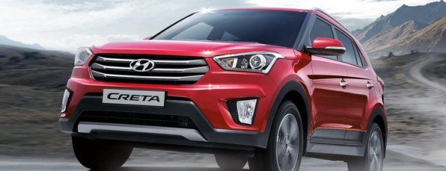 Hyundai Creta тесты в Индии