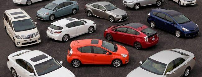 разные модели автомобилей