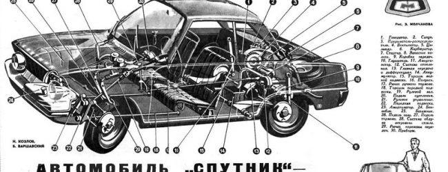 Другой «Спутник» — неизвестный автомобиль из СССР