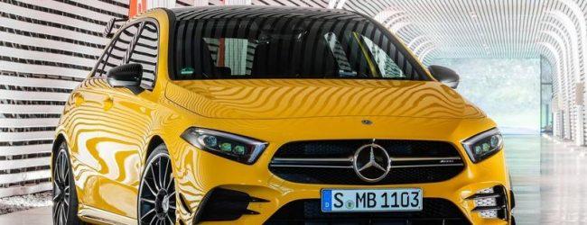 Хэтчбек Mercedes-AMG A 35