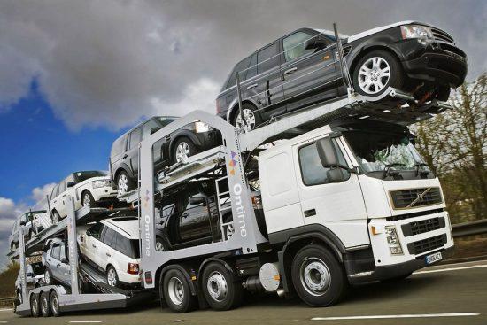 Транспортировка новых моделей из РФ