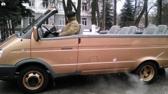 Кабриолет ГАЗ-2705