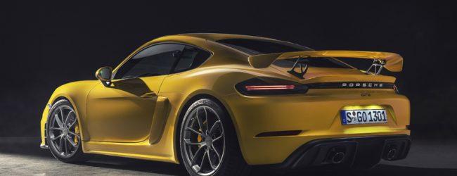 Porsche Cayman GT4.