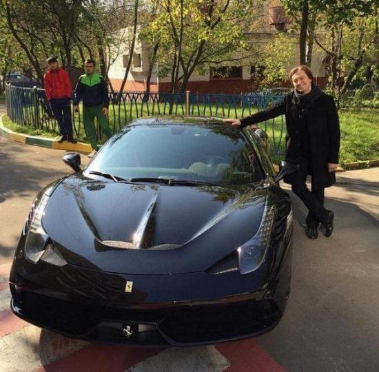 Машины Сергея Безрукова