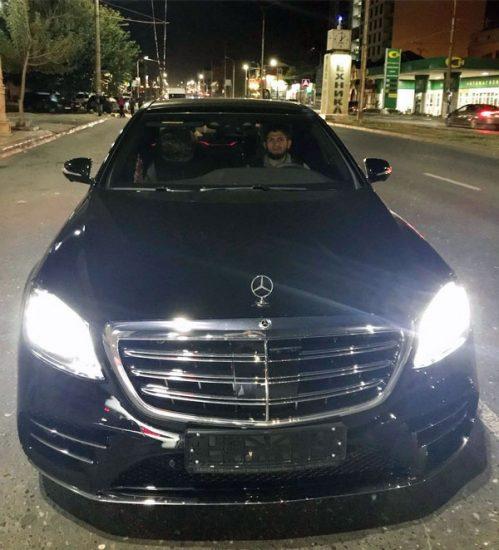 Хабиб за рулём Mercedes-Benz S-Class