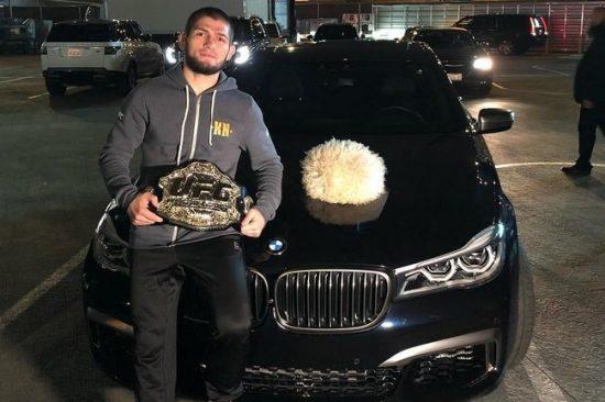 Хабиб Нурмагомедов и BMW X6