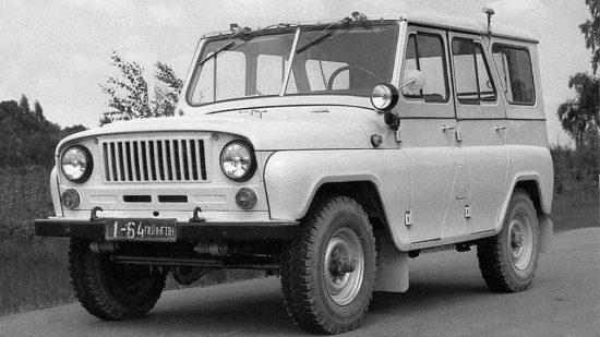 концепт внедорожника УАЗ-3151