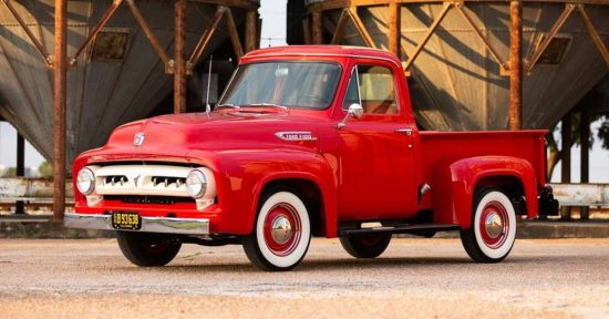 Ford F100 1953 года