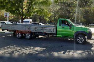 шестиколесный грузовик УАЗ «Профи»