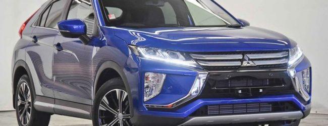 Mitsubishi Eclipse Cross голубой