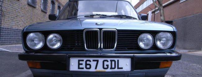 Зелёный BMW 518i 1986