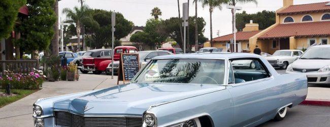Лоурайдер Cadillac Coupe DeVille 1968
