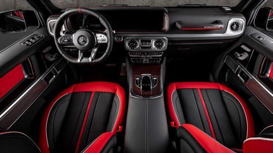 Mercedes-AMG G63 интерьер от Carlex Design