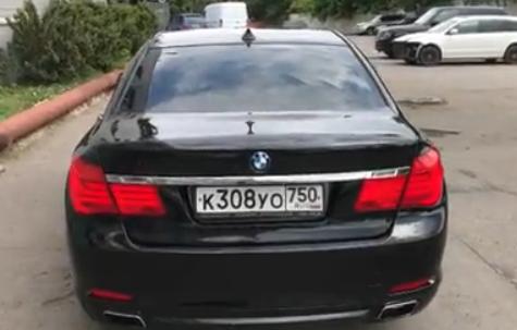 Машина Ильи Яббарова
