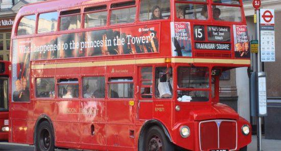 Один из символов Лондона — красный даблдекер