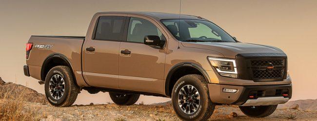 Представили обновлённый пикап Nissan Titan
