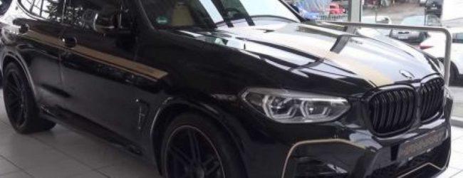 Представлена 630-сильная версия BMW X3