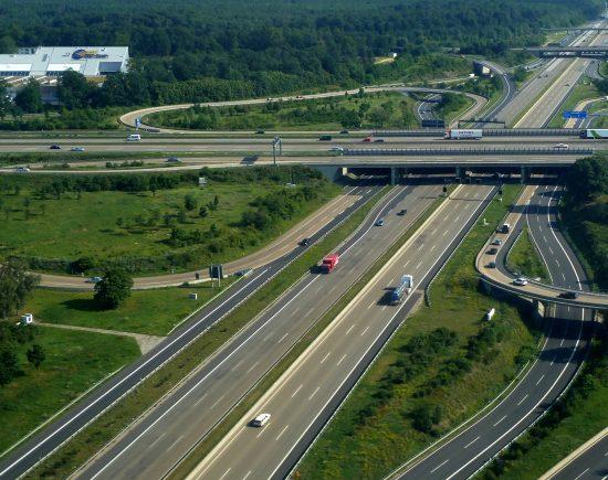 Немецкая автомагистраль