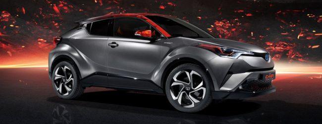 Toyota показала обновленный C-HR