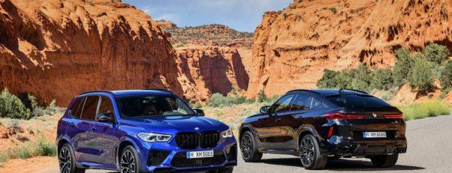 BMW Х5 М и Х6 М