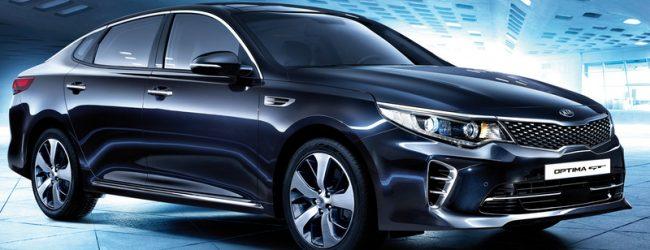Kia Optima новый седан