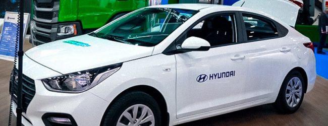 газовая версия CNG Hyundai Solaris