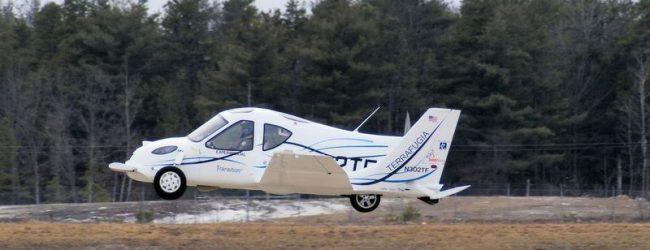 Летающий автомобиль начнут создавать в Новосибирске