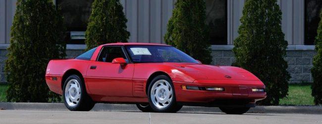 Corvette ZR1 1991 красный