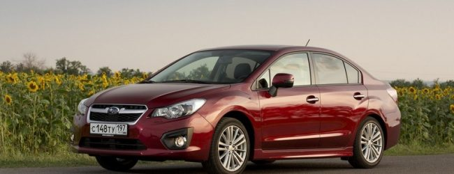 Subaru представила обновленную Impreza