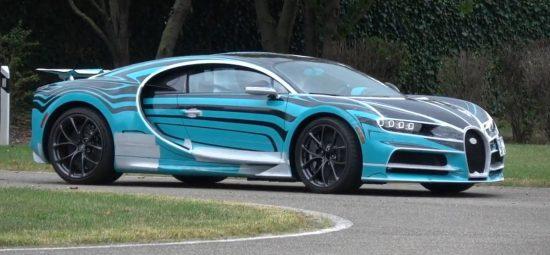 Bugatti Chiron Sport Zebra