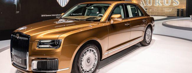 Путин и Бердымухамедов обсудили поставки автомобилей Aurus