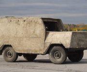 Бетонный  УАЗ-469