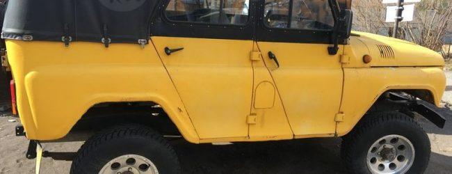 Жёлтый УАЗ-31512