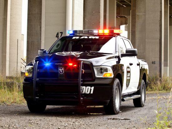 Полицейский пикап Dodge