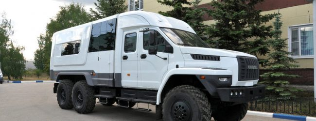 В России появился уникальный автодом на базе грузовика Урал Next