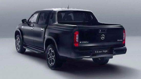 Mercedes-Benz Х-Class Night Edition