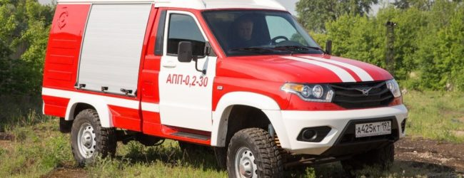 Уаз профи пожарная