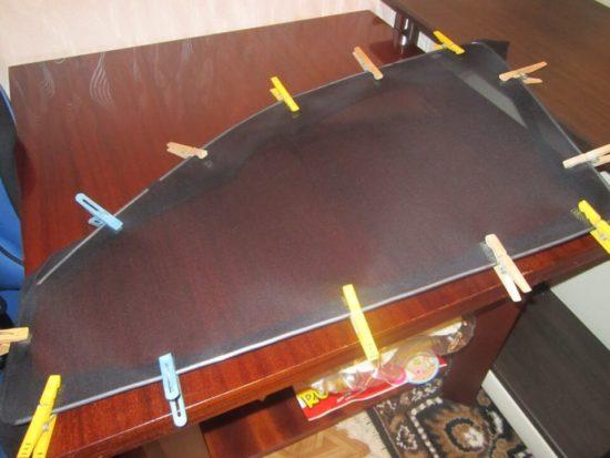 Изготовление каркасной шторки для автомобиля