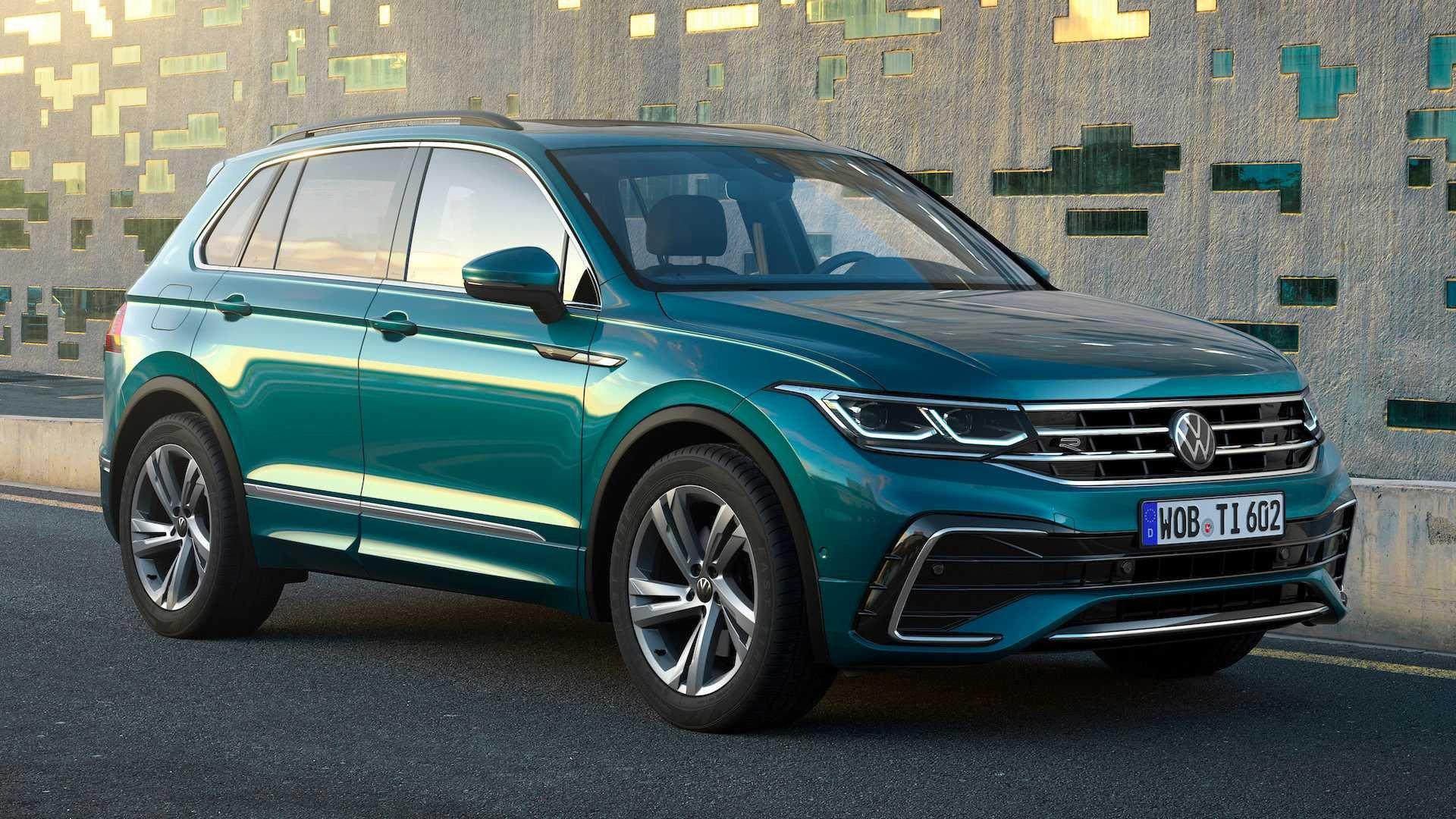 Volkswagen Tiguan 2021: обзор характеристик, дизайна и основных обновлений, полученных результате рестайлинга