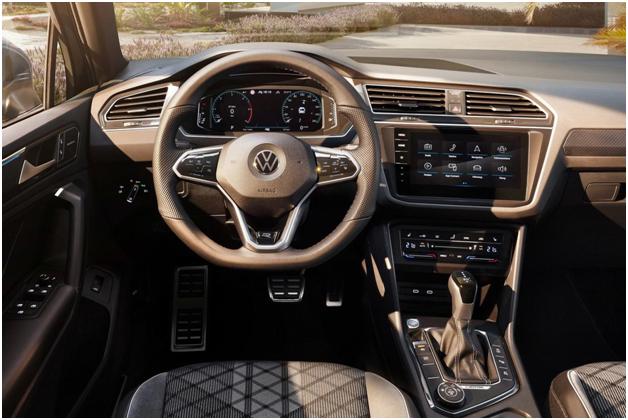 Салон Volkswagen Tiguan 2021