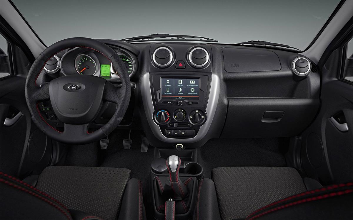 Экстерьер Lada Granta в кузове седан