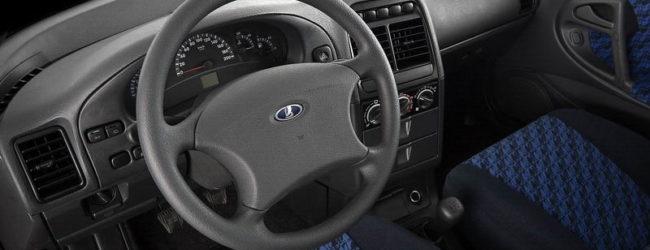 Руль и передние сиденья в ВАЗ 2110